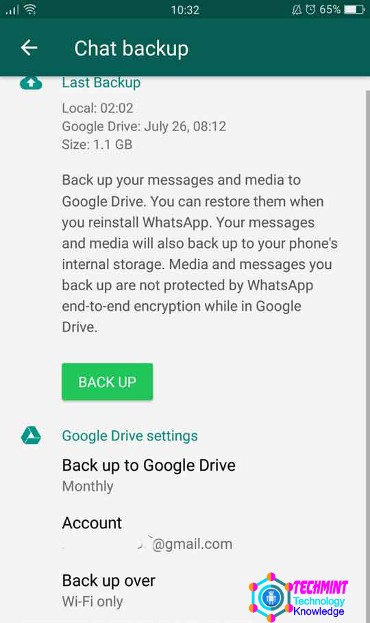 How to BackUp WhatsApp You Should Know