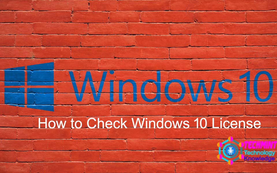 How to Check Windows 10 License