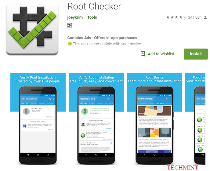 Root Checker Apps on Google Play 2