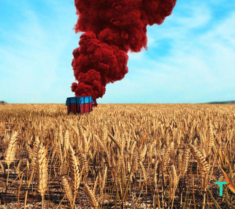 16. Airdrop at Wheat Field