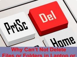 Delete Files or Folders