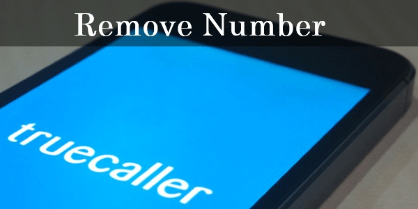 Delete Numbers from the Truecaller Directory List