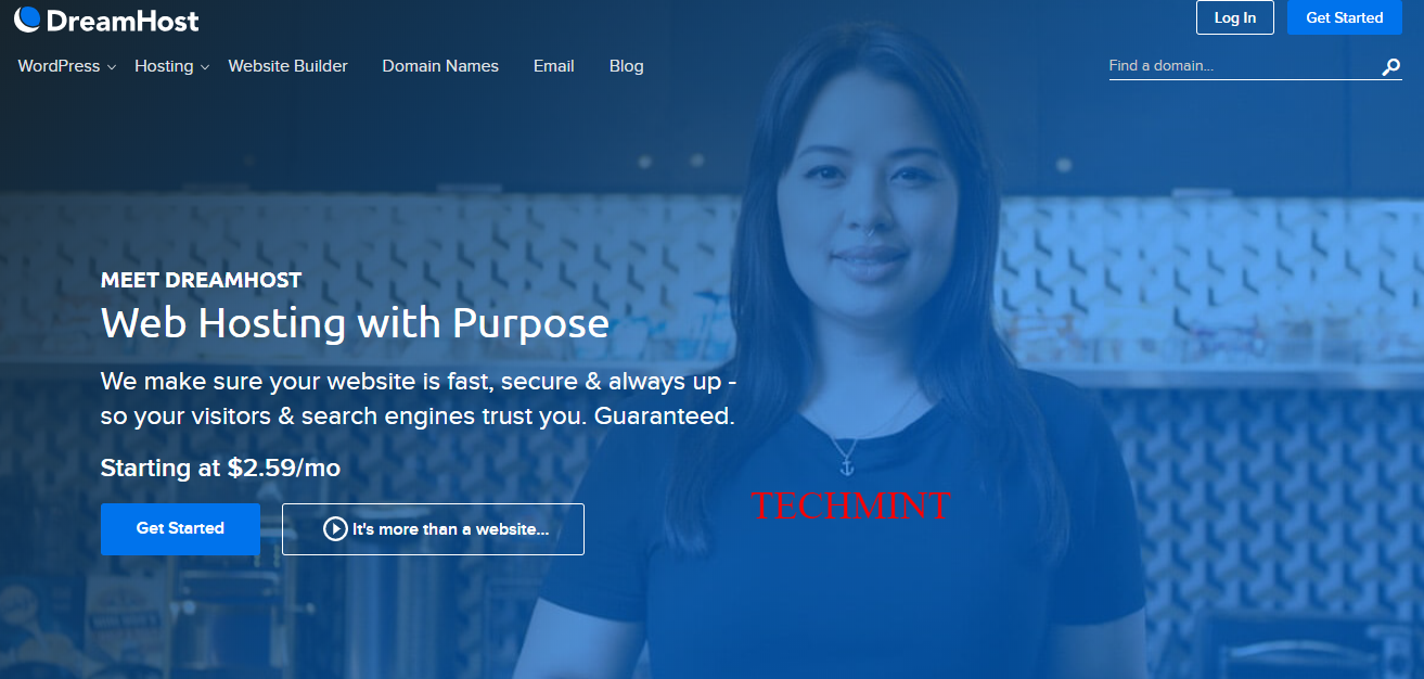 DreamHost Web Hosting For Your Purpose