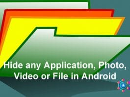 Hide any Application, Photo, Video or File