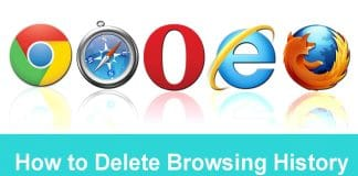 How to Delete Browsing History
