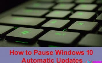 How to Pause Windows 10 Automatic Updates