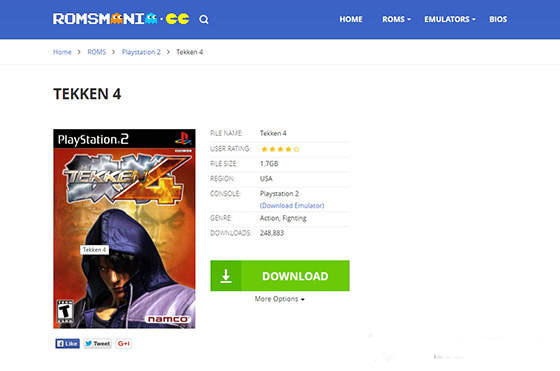 Roms Mania PS2 Download