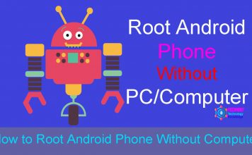 Root Android without a PC