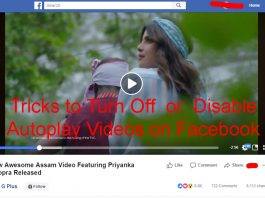 Tricks to Turn Off Disable Autoplay Videos on Facebook