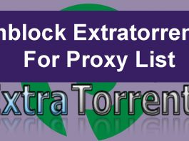 Unblock Extratorrent for Proxy List