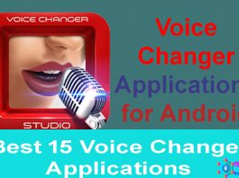 Voice Changer Applications for Android