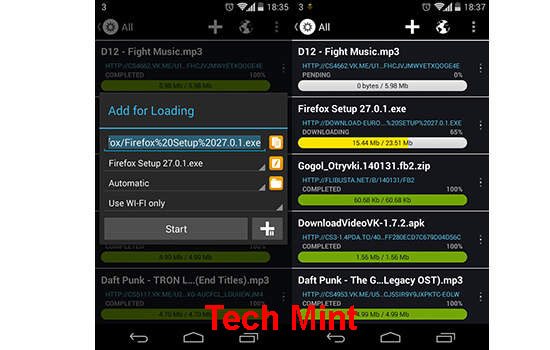 Droid Download Manager Loader