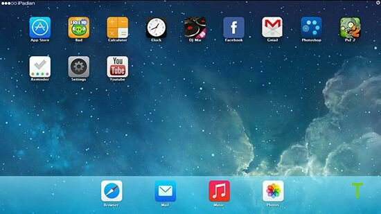 iPadian Emulator ios emulator