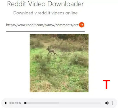 redv Reddit Video Downloader