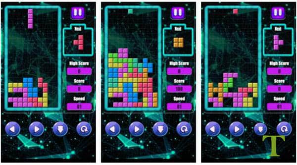Classic Brick Puzzle best tetris game