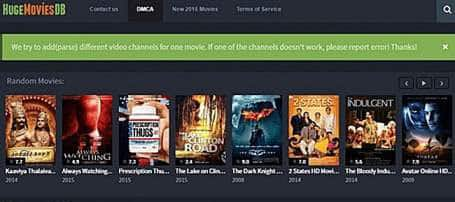 HugeMoviesdb alternatives of Bmovies.to