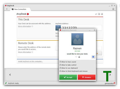 AnyDesk TeamViewer Alternative