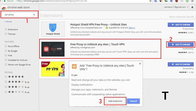 How to Open a Blocked Site on Google Chrome 3