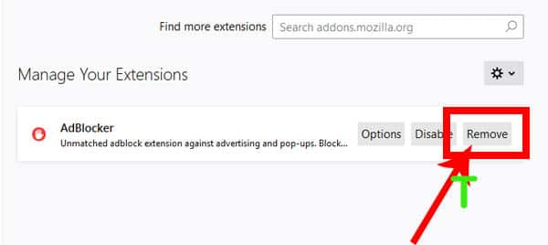 How to turn off Adblock in Firefox 3