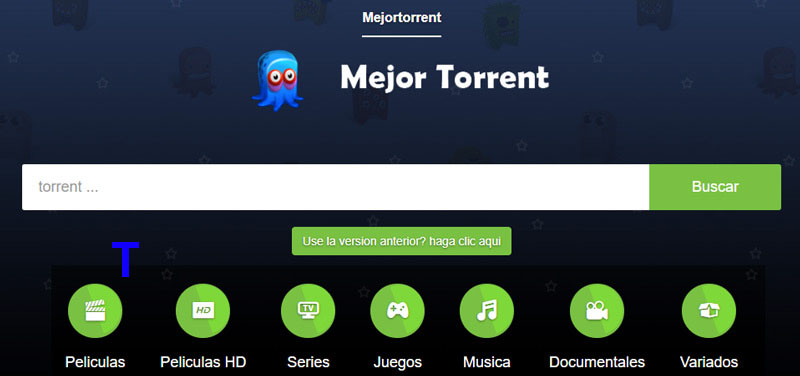Mejortorrent is a alternatives of Series Pepito