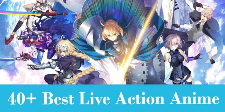 40+ Best Live Action Anime Recomendations
