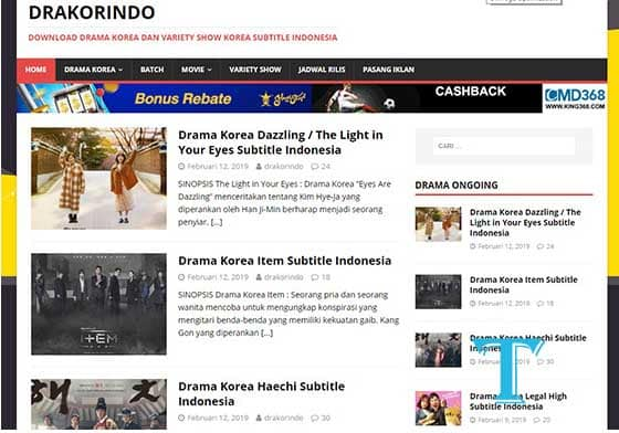 Drakorindo.cc (Most Recommended and Most Complete) Korean Drama Sites
