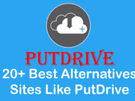 20+ Best Alternatives Sites Like PutDrive in 2019
