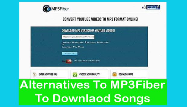 Alternatives To MP3Fiber To Downlaod Songs