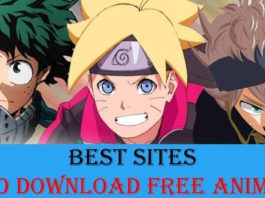 Best Sites to Download Free Anime