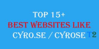 Top 15+ Best Websites Like CYRO.SE / Cyrose [2019]