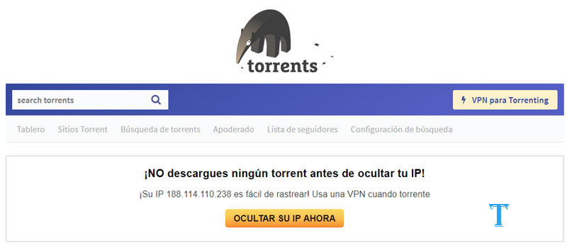 Torrents.me is a skytorrents alternatives