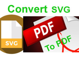 Best Ways to Convert SVG to PDF