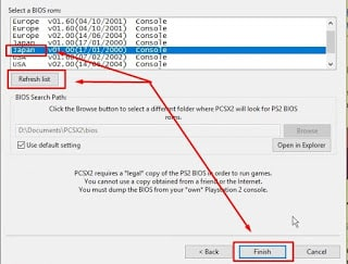 download pcsx2 bios