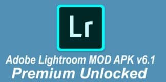 Adobe Lightroom MOD APK v6.1 (Premium Unlocked)