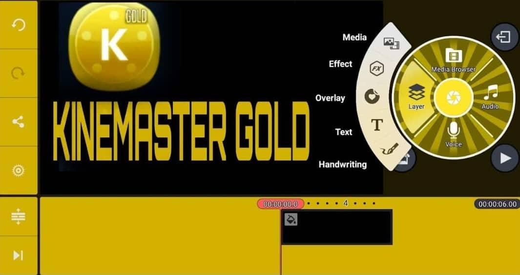 Kinemaster Pro Gold (Apk Mod)