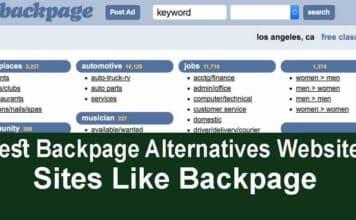 15 Best Backpage Alternatives Websites