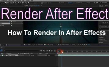How To Render In After Effects