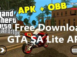 Free Download GTA SA Lite APK For Android [Mod+OBB]