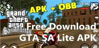 Free Download GTA SA Lite APK For Android [Mod+OBB]
