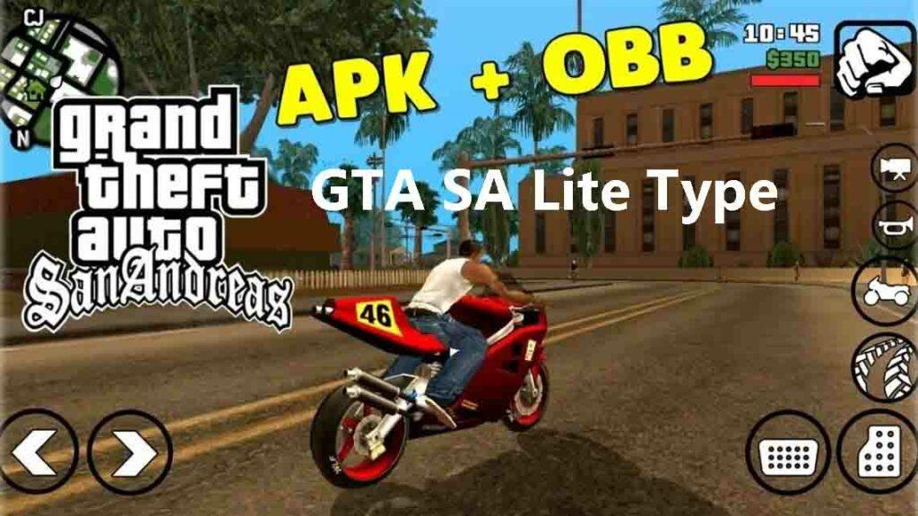 GTA SA Lite Type