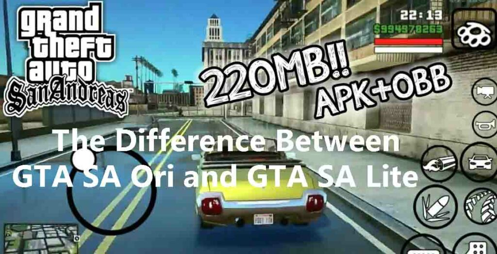 Free Download Gta Sa Lite Apk For Android Mod Obb Techtanker