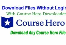 Download Files Without Login With Course Hero Downloader