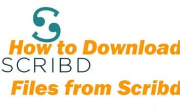 Scribd Downloader: Download Files Without Login