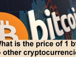What is the price of 1 btc to other cryptocurrencies