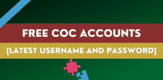Free COC Accounts [Free Username And Password]