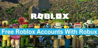 Free Roblox Accounts With Robux